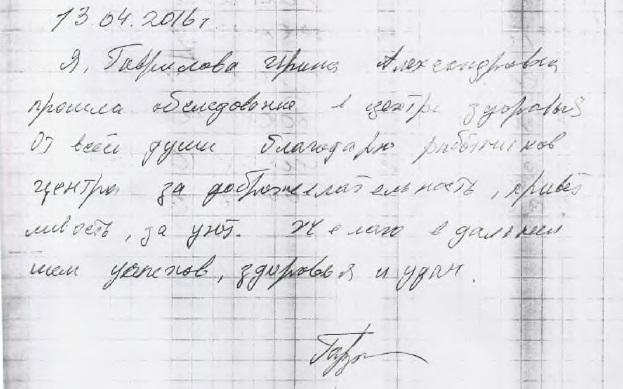 Гаврилова